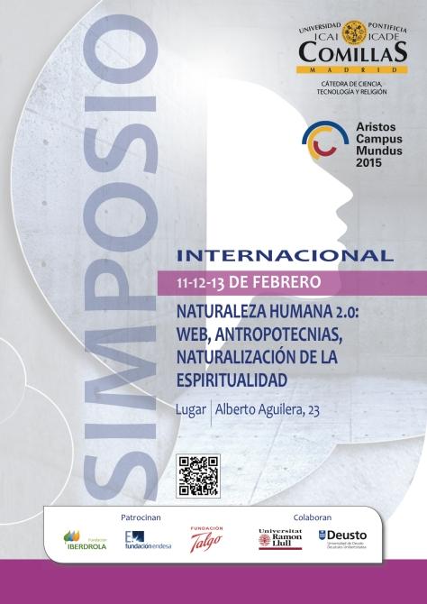 2 Cartel con QR Simpsio Internacional