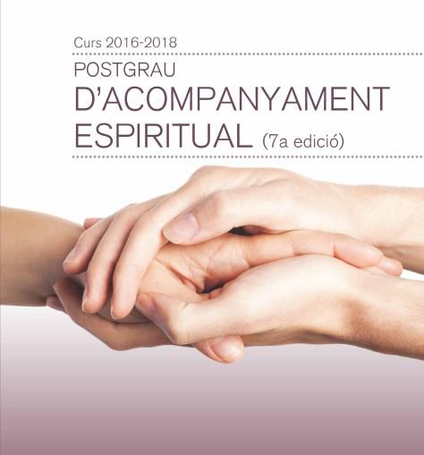 2016. Díptic Postgrau Acompanyament Espiritual 1
